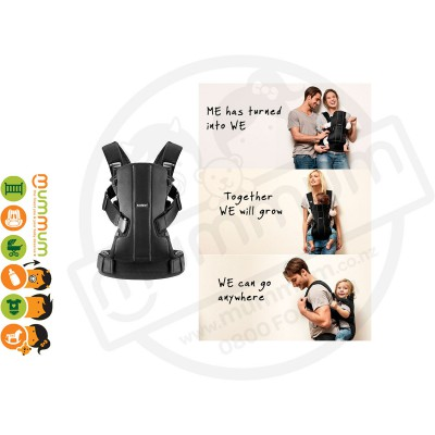 Babybjorn Baby Carrier WE 0-3years 100% Cotton (Black)