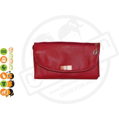 Isoki Changing Mat Clutch - Mat Red