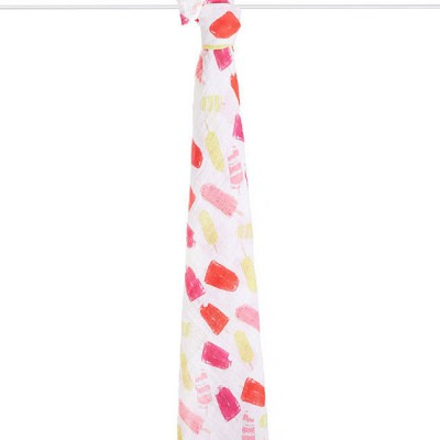Aden and Anais Muslin Single Swaddle popsicles