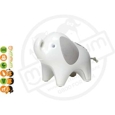 Skip Hop Moonlight Melodies Nightlight Soother Elephant Projector