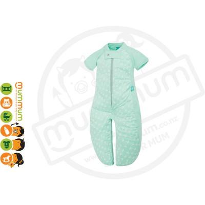 ergopouch sleepsuit 1.0TOG Mint Cross Choose Sizes 2m-6Y Pure Cotton