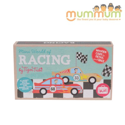 Tiger tribe mini world racing For 3ys