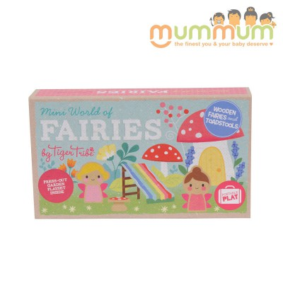Tiger tribe mini world of fairies For 3ys
