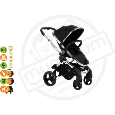 iCandy Peach 2016 Black Magic Double Stroller up to 25kg