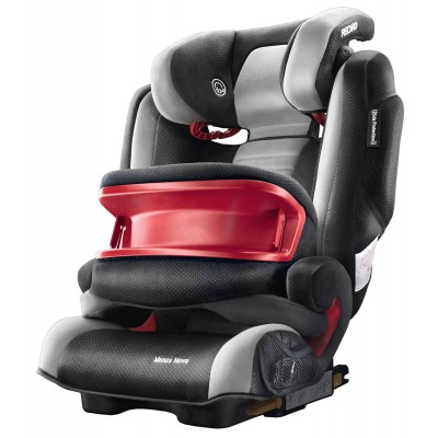 Recaro Monza Nova IS Cushioned Car Seat & Booster- Graphite Grey/Black