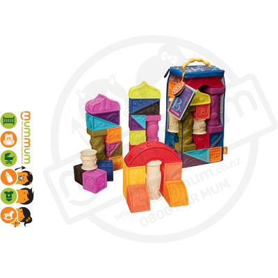 Battat Elemenosqueeze Soft Blocks