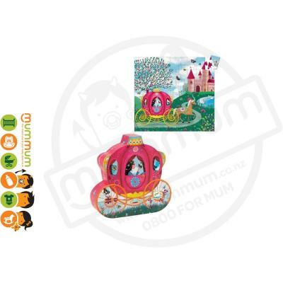 Djeco Silhouette Puzzle - Elise's Carriage , 54pcs