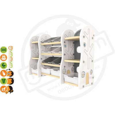 iFam DESIGN Toy Organizer 9 (BEIGE) L153xD36xH91 Made in Korea PREORDER ETA DEC