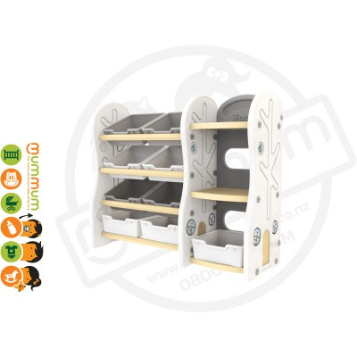 iFam DESIGN Toy Organizer 4 (BEIGE) L115xD36xH91 Made in Korea PREORDER ETA DEC