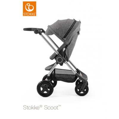Stokke Scoot V3 Black Melange Canopy Euro Made From NB 0+