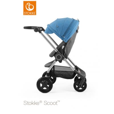 Stokke Scoot V2 Blue Canopy Euro Made From NB 0+