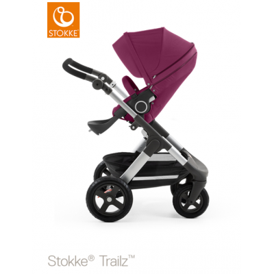 Stokke Trailz All Terrain Pram Euro Made Purple