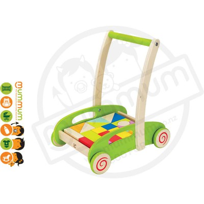 Hape Block And Roll Wooden