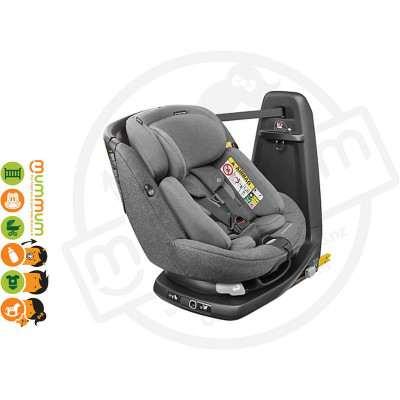 Maxicosi Axissfix Plus Convertible Car Seat SparklingGrey Swivel Birth-4Y IsoFix