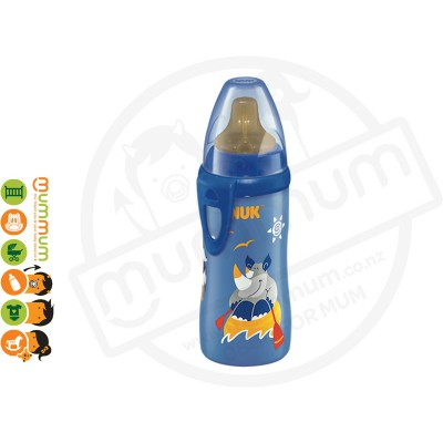 NUK Active Cup 300ml With Spout Blue
