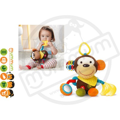 Skip Hop Bandana Buddies Activity Animals Monkey