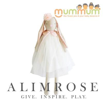 Alimrose Bessie Bunny Ivory 70cm