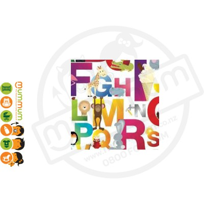 Little Shades Stick On Decals - Alphabet Fun