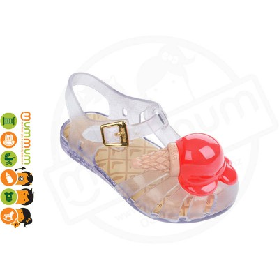 Mini Melissa Aranha X Icecream 31876 Clear Trans