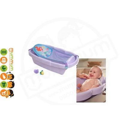 The First Years Ariel Bath Tub W/ Bath Sling + Toys