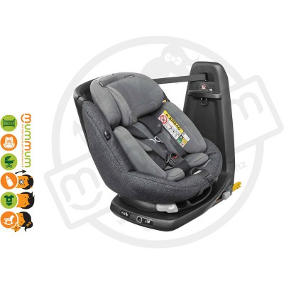 Maxi Cosi Axissfix Plus Triangle Black Swivel Birth-4Y IsoFix