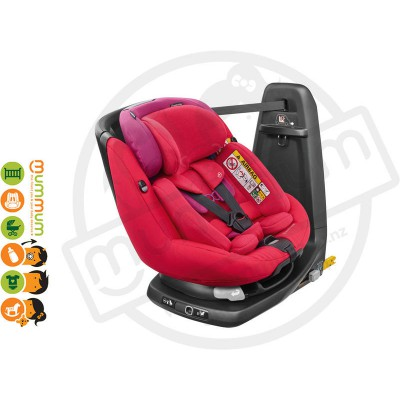 Maxi Cosi Axissfix Plus Red Orchid Swivel Birth-4Y IsoFix