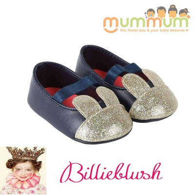 Billieblush Baby Bunny Shoes Navy