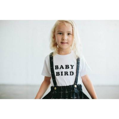 thebeeandthefox baby bird T white Size 6