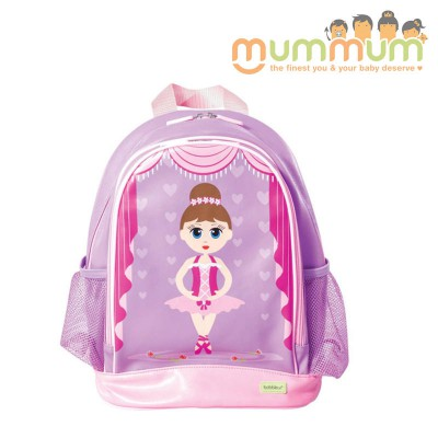 Bobble Art Medium Size School Backpack --Ballerina