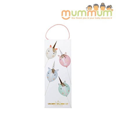 Meri Meri Unicorn balloon kit