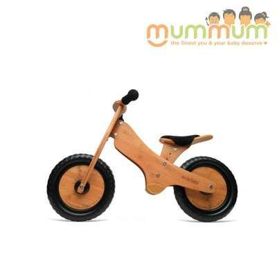 Kinderfeets classic bamboo balance bike 2yrs+