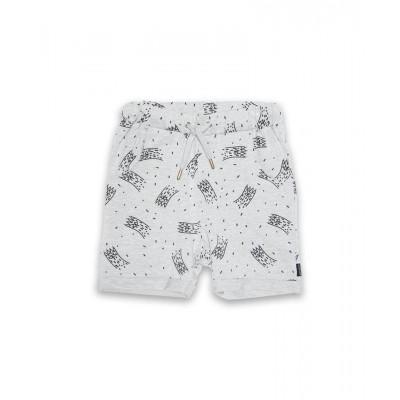 Band of boys shorts claws marle grey