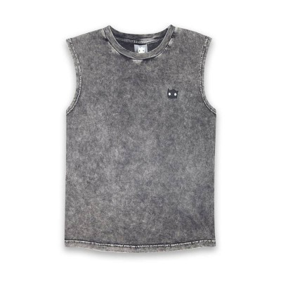 Band of boys singlet Meow Washed Black