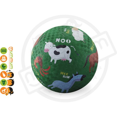 "Croc Creek 7"" Playground Ball Barnyard Design"