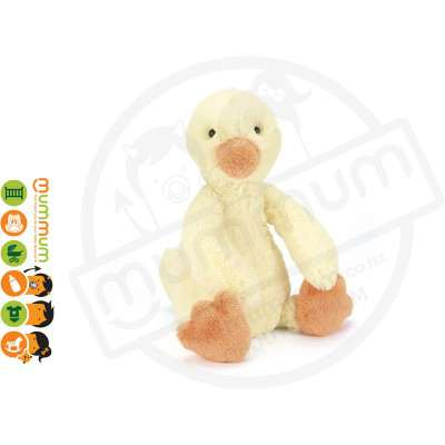 Jellycat Bashful Duckling Soft Toy