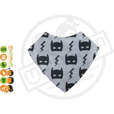 Eversweet Dribble Bib Batman Bat Mask