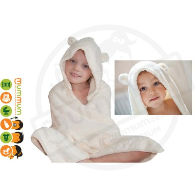 Cuddledry Snuggle Fun Towel 3-6Y - Bear
