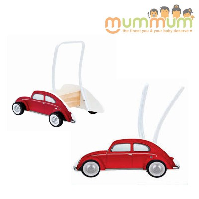 Hape  Beetle Car Shaped  Walker - Red