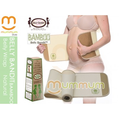 Belly Bandit Bamboo Postpartum BellyWrap Natural M