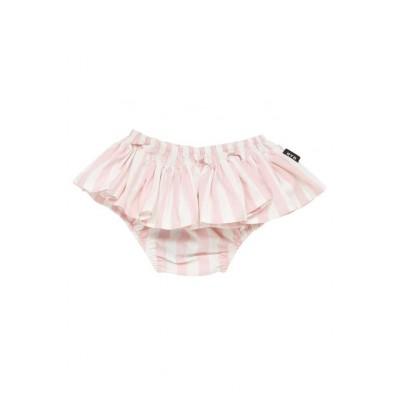 Rock your baby Stripe Ruffle Pant Light Pink 3-18M