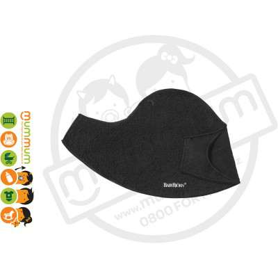 BABYBJÖRN Comfort Bibs for Baby Carrier Black 2pk