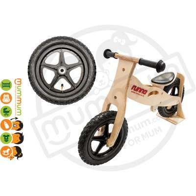 Runna Balance Bike (Black) 2-5 Y