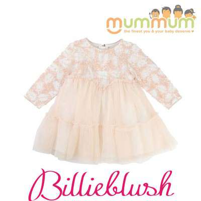 BillieBlush Dress Ceremonie Pale Pink
