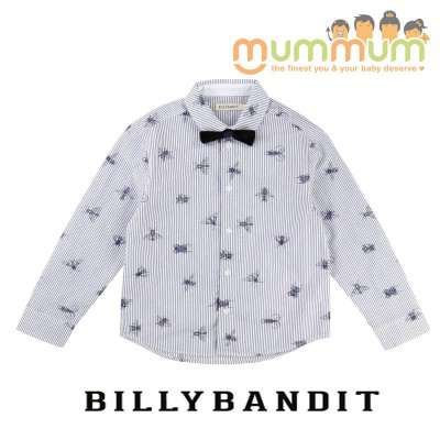 BillyBandit Shirt Ceremonie White Blue