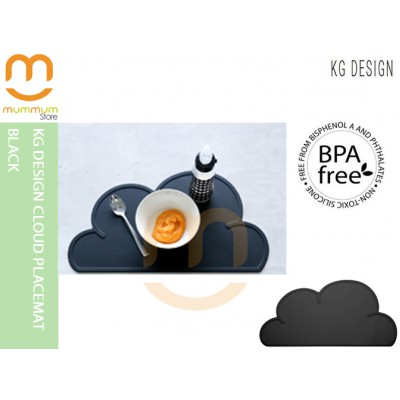 KG DESIGN CLOUD PLACEMAT Black