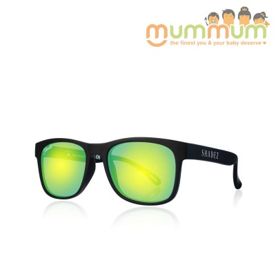 Shadez Junior Black Yellow