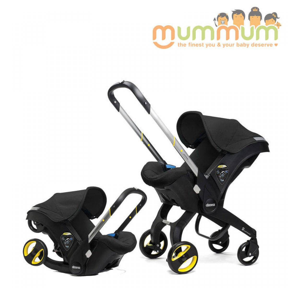 The EZ Ride 5 Travel System in includes a fixed back infant car seat with an EZ Flex-Loc stay in car base. The Baby Trend EZ Ride 5 Travel System is the perfect solution for new parents.