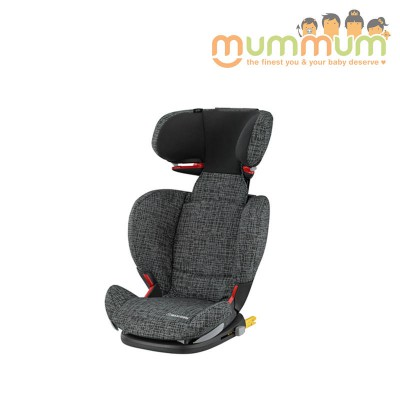 Maxi Cosi Booster Seat Rodifix AP Black Grid Recline IsoFix