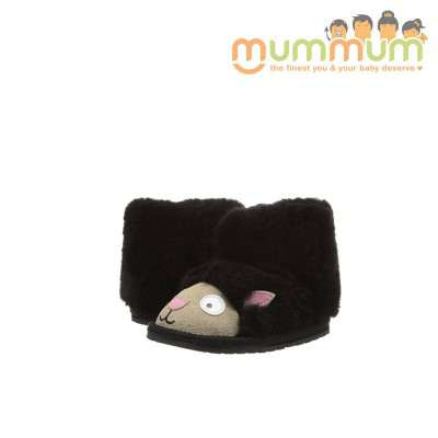 EMU LITTLE KIDS LITTLE CREATURE  Lamb black  6-12m, 12-18m, 18m+