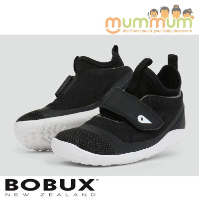 Bobux KP Hi Dimension Hi Top Black Big Kid